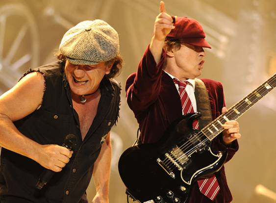 ACDC + Clássicos do rock