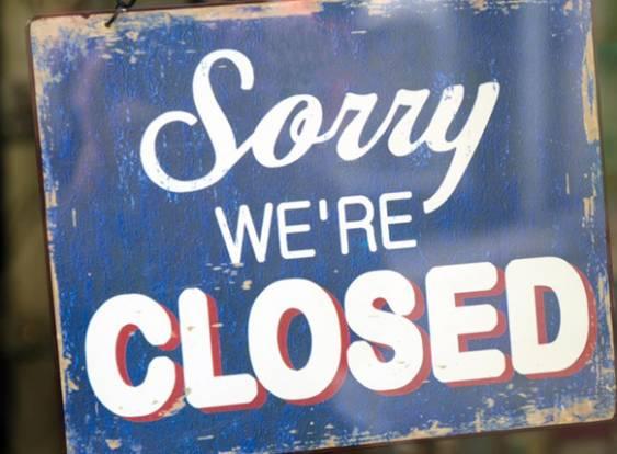 esteramos fechados